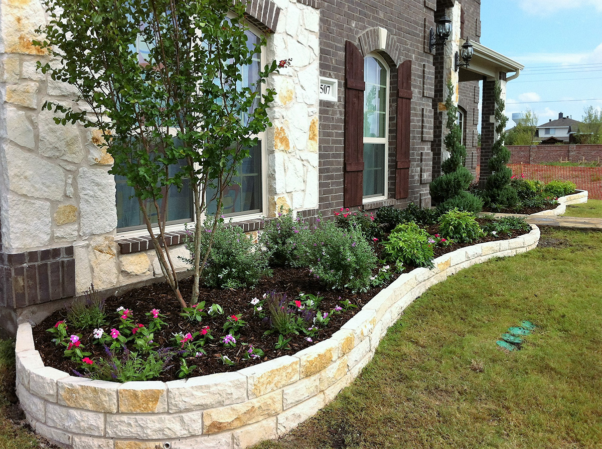 Image of: Landscaping Photos Hawkins Landscape Lawn Maintenance Collin County Tx